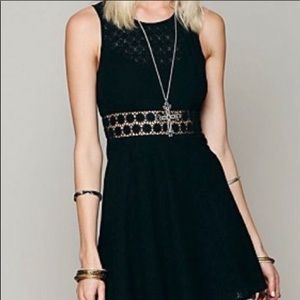 Free People sundress, black. Excellent condition